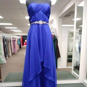 Alyce Paris Sapphire Gown